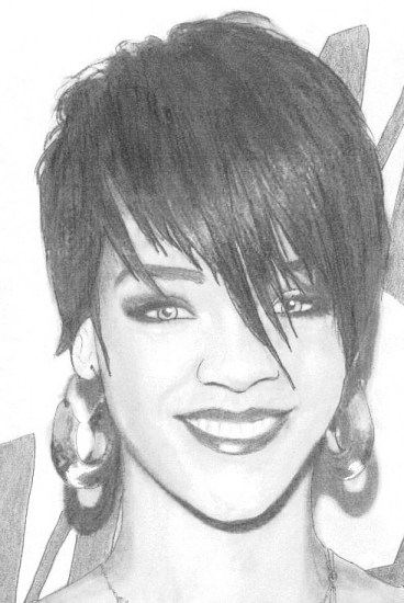 Rihanna by chrys